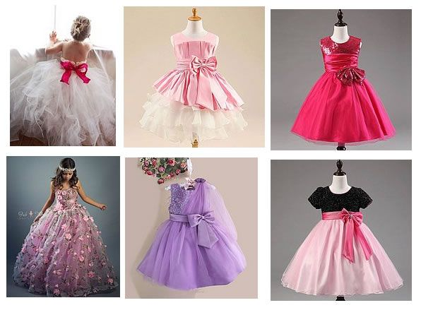 vestidos de Princesa para niñas