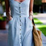 Patrón de vestido sin mangas chamesier