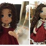 Muñeca amigurumi Carolina – DIY paso a paso