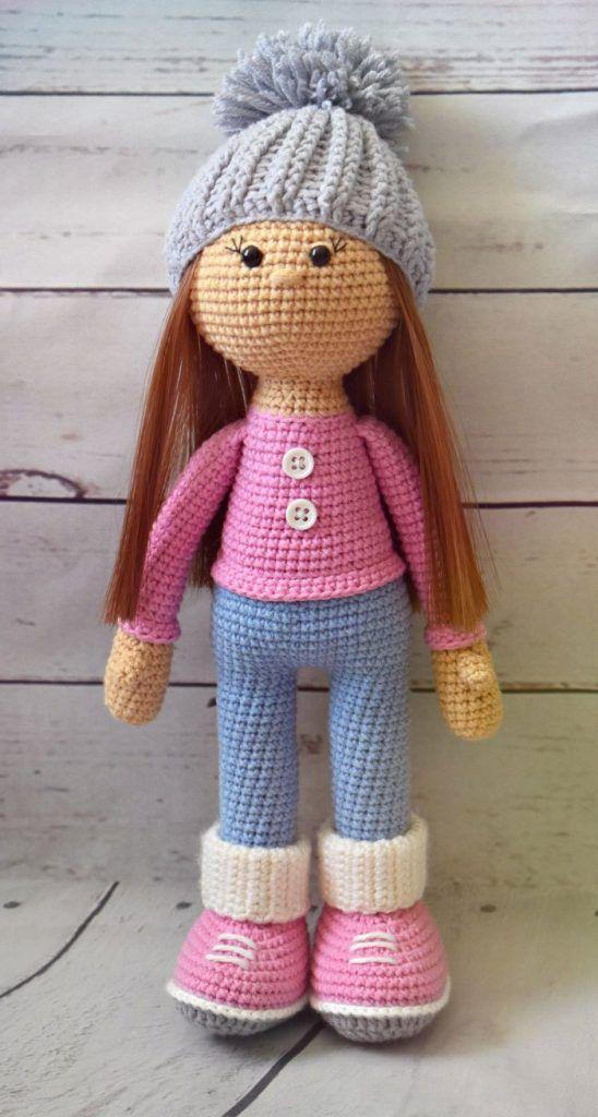 Patrón Patrón Crochet De Molly Muñeca De q5zpdq
