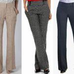 Patrón Pantalón de sastre de mujer