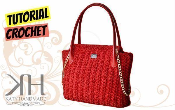Gratis Elegante A Crochet Patrones Bolso Diy 5L34qcASjR
