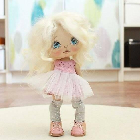 Patrón Dulce muñeca de tela - Patrones gratis