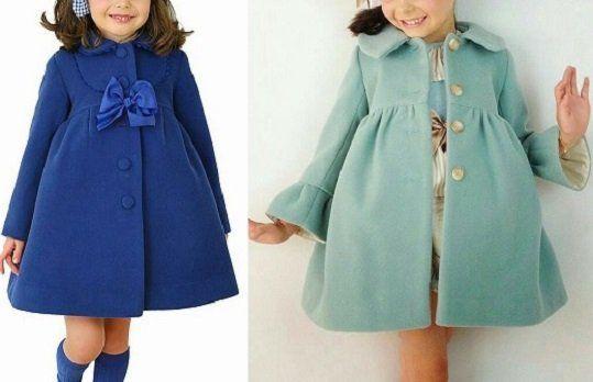 01bb9616b Patrón abrigo para niña - Patrones gratis