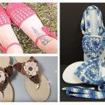 DIY Como hacer Sandalias tejidas a crochet