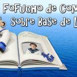 DIY Fofucho de comunión sobre base de libro