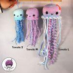 DIY Medusas en amigurumi