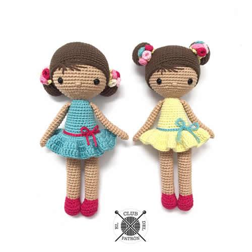 DIY muñeca Chole a ganchillo