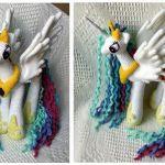 Patrón amigurumi de My Little Pony – Princesa Celestia