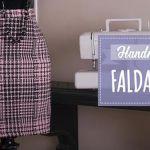 DIY Falda tubo con patrón