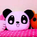 DIY cojín almohada oso panda