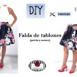 Falda de tablones DIY