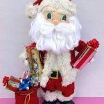 DIY Papá Noel fofucho con moldes