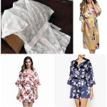 Patrón Bata kimono fácil de hacer