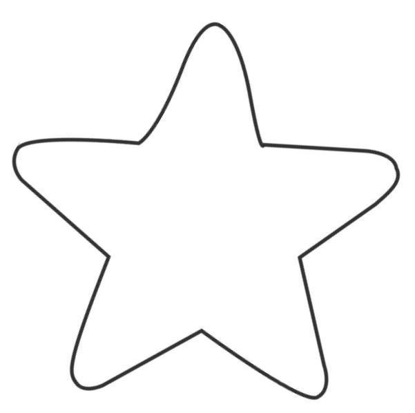 Molde en forma de estrella