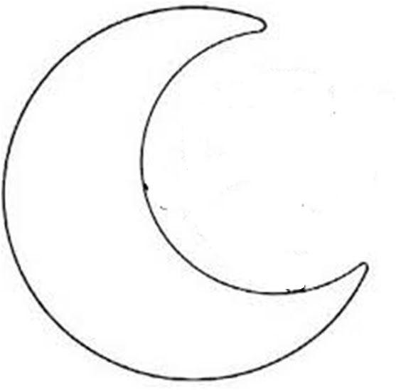 Molde en forma de luna