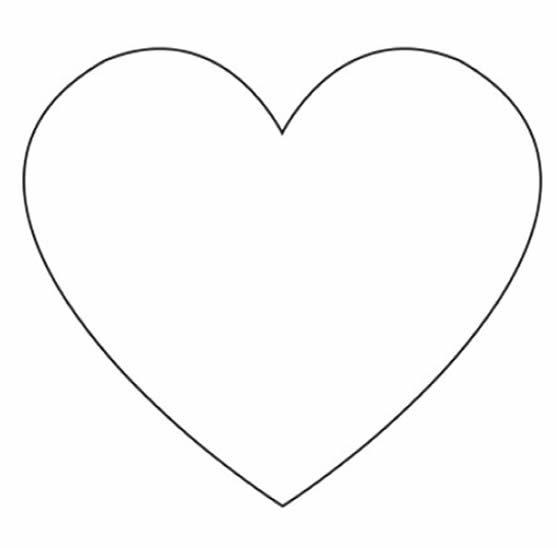 Molde en forma de corazón
