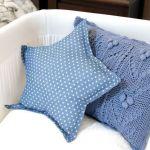 DIY como coser un cojín estrella paso a paso
