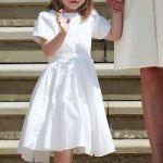 Vestido infantil princesa Charlotte