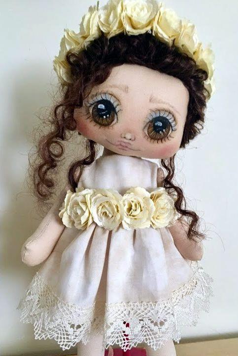 Muñeca de tela Ana