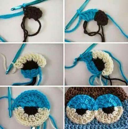 Preciosas ideas de crochet para niños. ¿Te animas? | Pajaritos al ... | 450x447