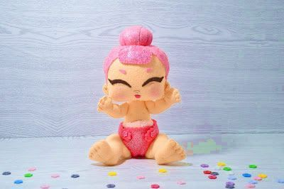 Muñeca Bebé Lol Surprise en fieltro