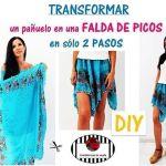 dfc8a0ad10 DIY Transforma tus vaqueros viejos en una falda - Patrones gratis
