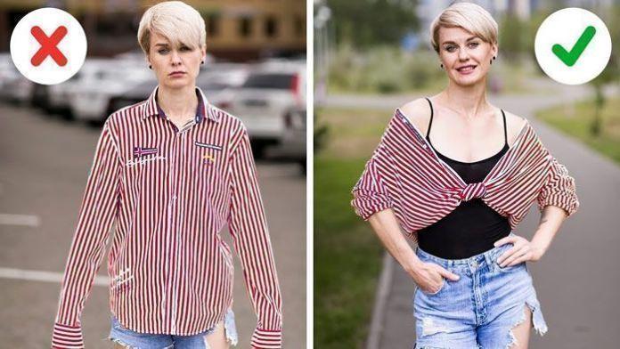 DIY de 40 trucos de ropa o costura