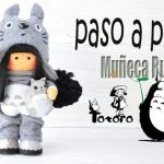 DIY Muñeca Rusa Totoro con patrón gratis