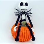 DIY Jack Skeleton amigurumi