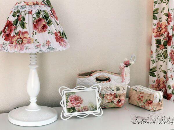 DIY Reciclar lampara de mesita de noche