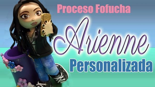 DIY Fofucha Arienne personalizada