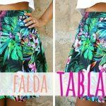 DIY Falda de tablas paso a paso