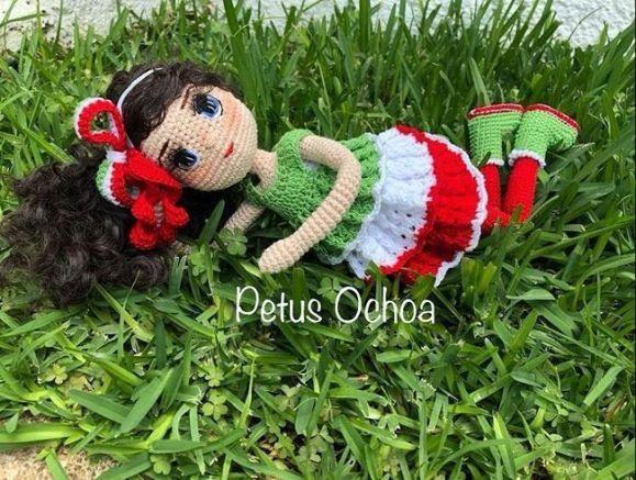 Muñeca amigurumi María