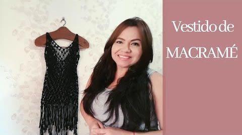 DIY Vestido playero de macramé paso a paso