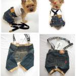 Pantalones vaqueros para mascotas