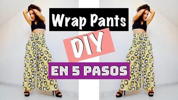 DIY Wrap Pants fácil y rápido