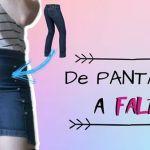 DIY Convertir pantalón en falda