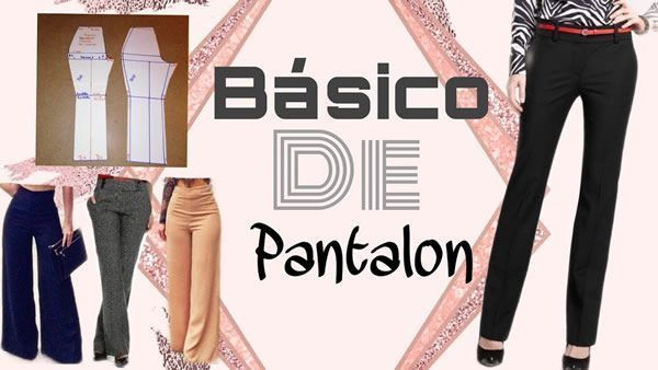 DIY Patrón de pantalón básico de mujer