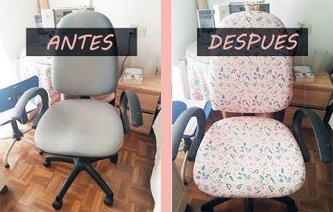 DIY Tapizar una silla de oficina