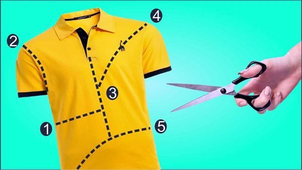 5 Ideas de como transformar camisetas