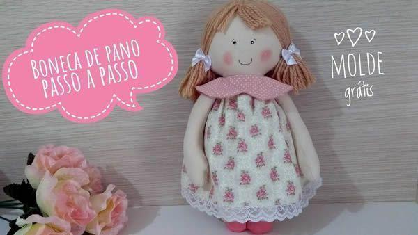 DIY Muñeca de trapo con patrones