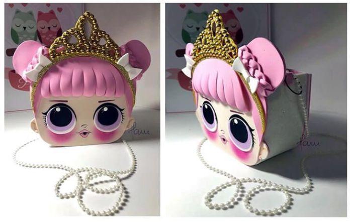 Bolso muñeca LoL en goma eva