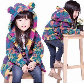 Chaqueta infantil con capucha
