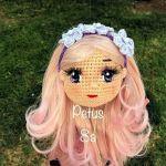 DIY Como poner pelo a tus muñecas amigurumi