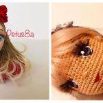 DIY como bordar ojos para tus muñecas amigurumi