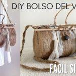 DIY Bolso del verano con cuerda