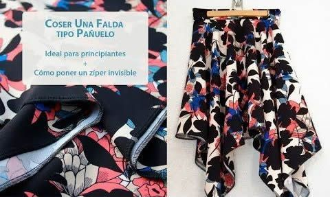 DIY Como hacer una falda estilo pañuelo