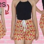DIY Transformar una falda en Short