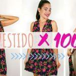 Como hacer un vestido multiusos muy fácilmente